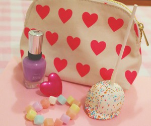 hearts, pastel, and sweet image