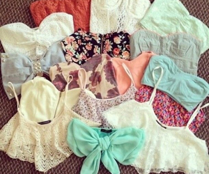 fashion, summer, and tops image