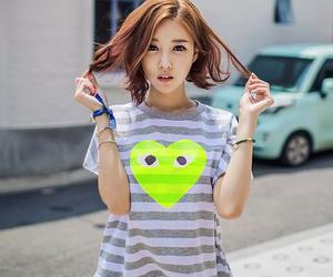 fashion, korean, and girl image