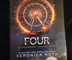 four, divergent, and veronica roth image