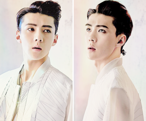 exo, handsome, and korea image