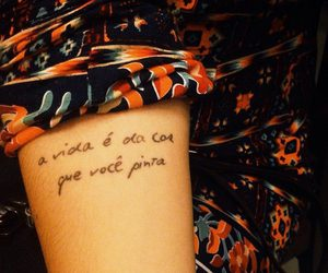 tattoo and frase image