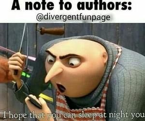 authors and divergent image
