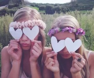 beauty, flowers, and funny image