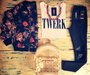fashion, style, and twerk image