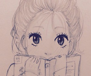 draws, cute, and hipster image