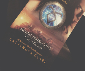 book, jace, and mortal instruments image