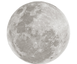 moon and transparent image