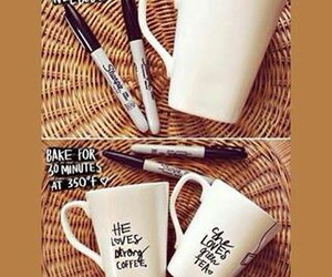 diy, tutorial, and cup image