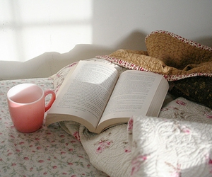 bed, coffee, and home image