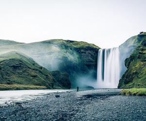 fotografia, cachoeira, and natureza image