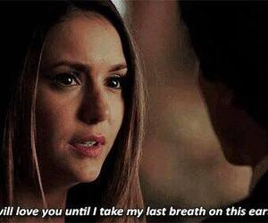 elena, human, and the vampire diaries image