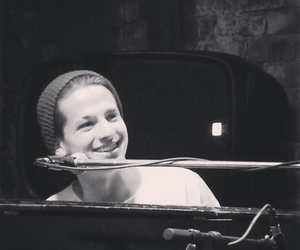 piano, smile, and charlie puth image
