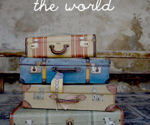 travel, vintage, and girl image
