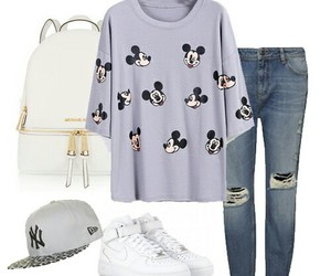 hat, pants, and white shoes image