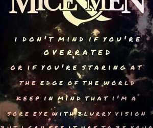 bands, om&m, and Lyrics image