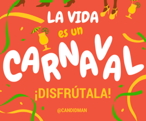 carnaval, frases, and inspirational image