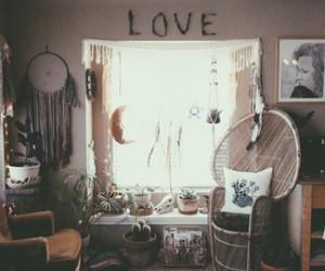 bedroom, boho, and cozy image