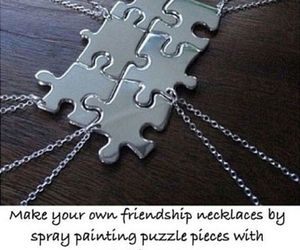 diy, friendship, and piece image