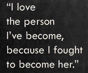 fight, self worth, and love image