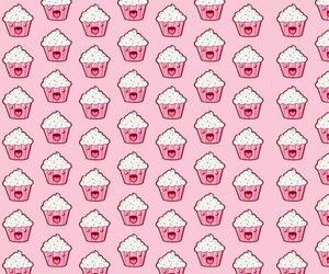 background, cake, and cupcake image