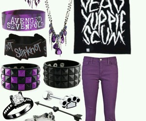 cool, emo, and outfit image