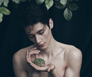 fashion, frog, and male model image