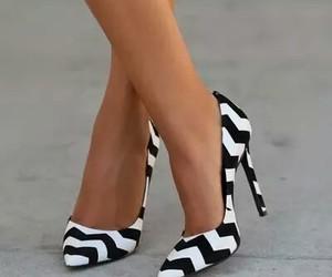 black, pumps, and high heels image