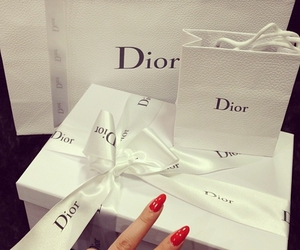 dior, nails, and luxury image