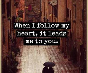 follow your heart and love image