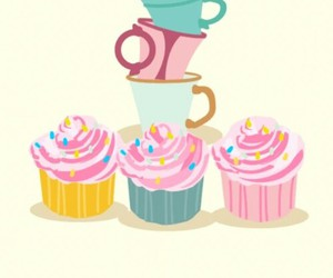 background, cake, and food image