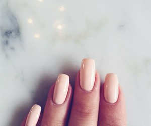 girl, nails, and beautiful image