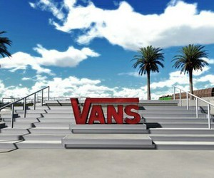 palms, vans, and Logo image