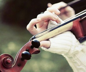 violin and music image