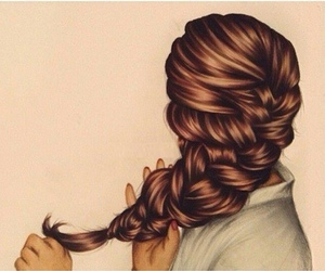 art, hair, and pretty image