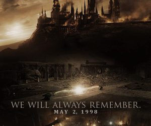 harry potter, hogwarts, and always image
