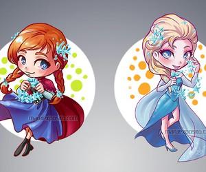disney princess, frozen, and disney queen image