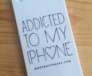 iphone, case, and addicted image