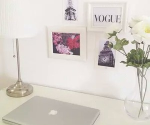 room, flowers, and vogue image