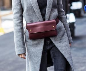 bag, burgundy, and celine image