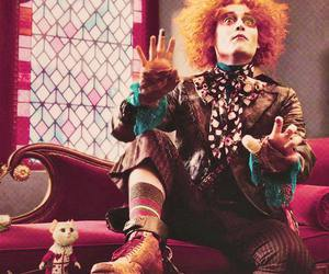 alice in wonderland, johnny depp, and mad hatter image