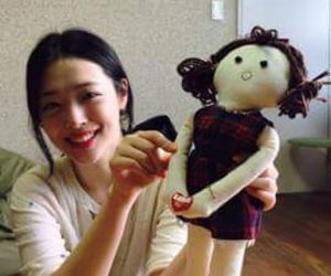 baby girl, f(x), and choi sulli image