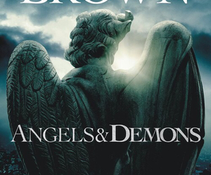 angels & demons and dan brown image