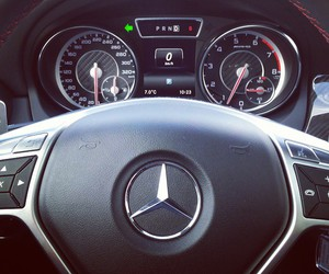 benz, luxury, and car image