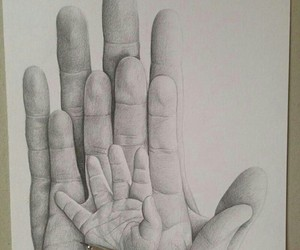 family, cute, and hands image