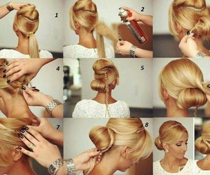 hair, tutorial, and pretty image
