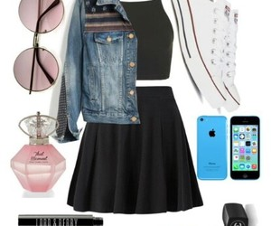 black, one direction, and jeans image