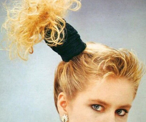 80's, hairstyles, and failed hairstyles image