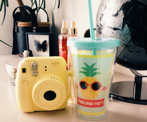 ananas, cool, and smoothie image