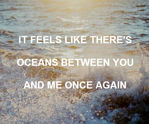 Lyrics, oceans, and sea image